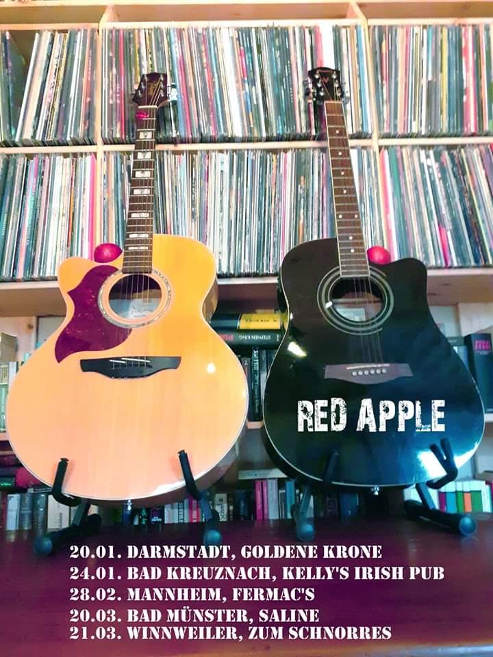 red Apple im März
